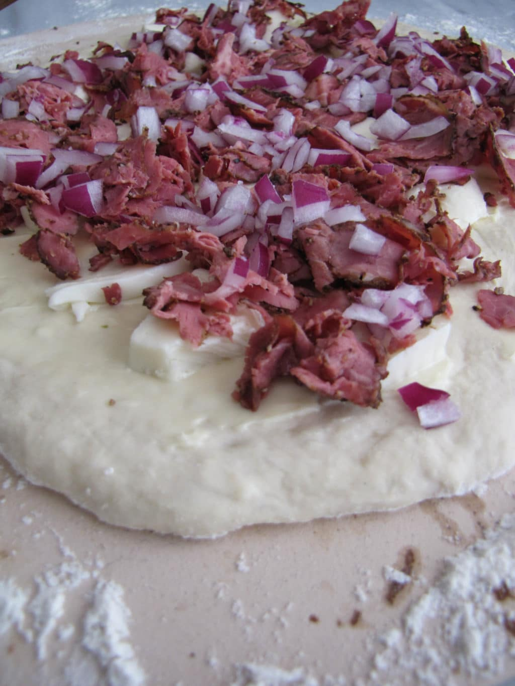 Pastrami Pizza | CaliGirl Cooking