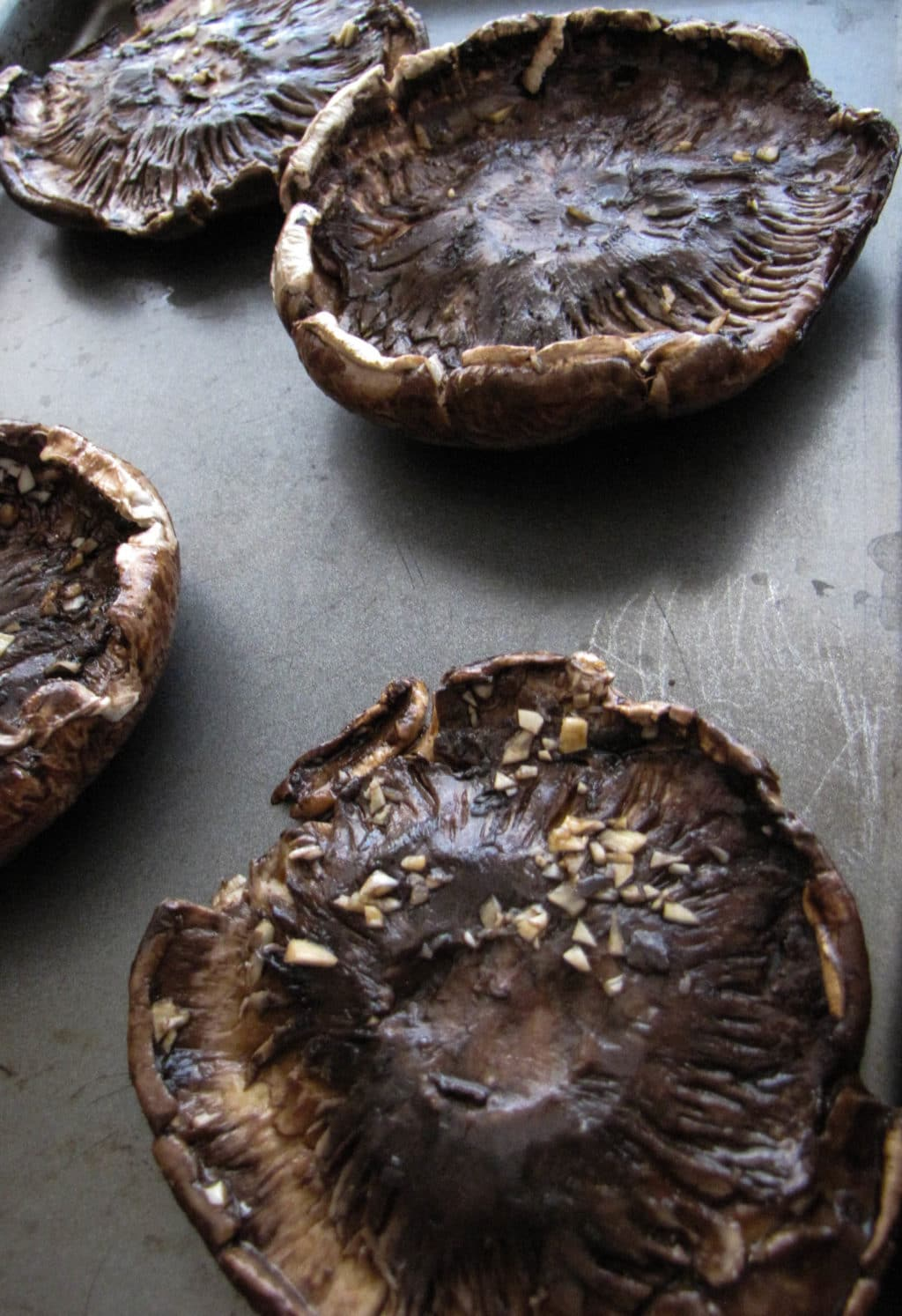 Balsamic-Marinated Stuffed Portobellos | CaliGirl Cooking