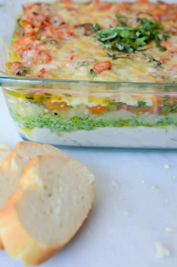 Italian 5-Layer Dip | CaliGirl Cooking