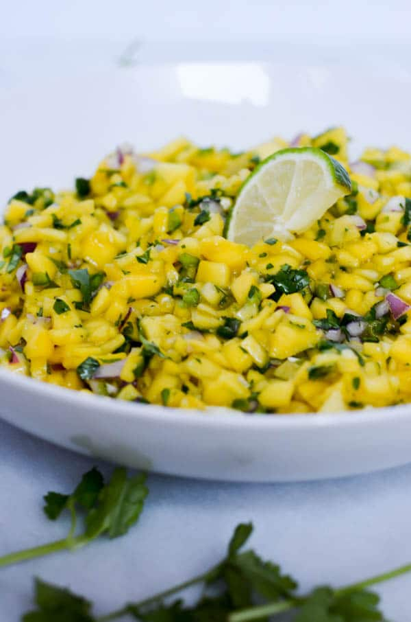 Mango Salsa | CaliGirl Cooking