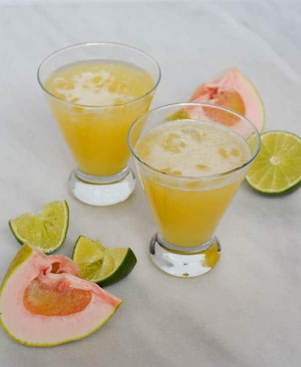 Pineapple Pummelo Margaritas | CaliGirl Cooking