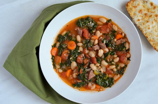 Warming Minestrone Soup | CaliGirl Cooking
