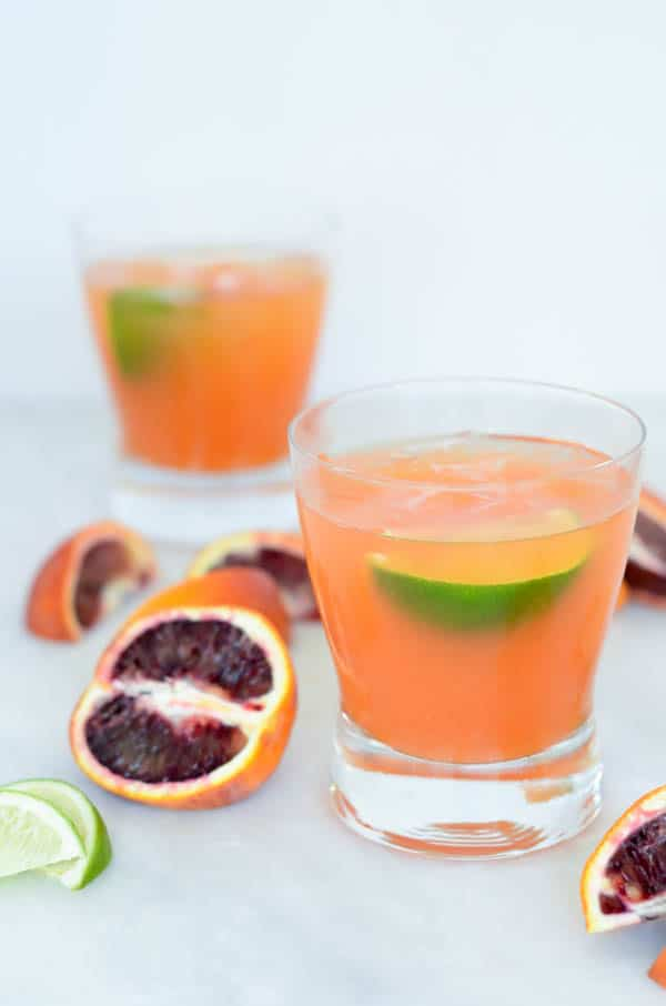 Blood Orange Margarita | CaliGirl Cooking