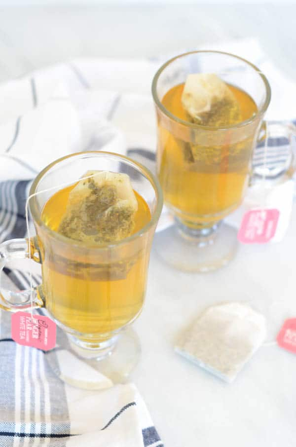 Warming Ginger Tea Whiskey Cocktail | CaliGirl Cooking
