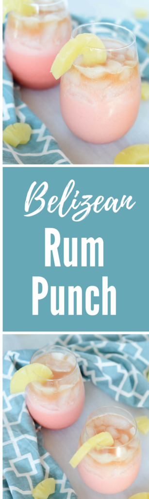 Belizean Rum Punch | CaliGirlCooking.com