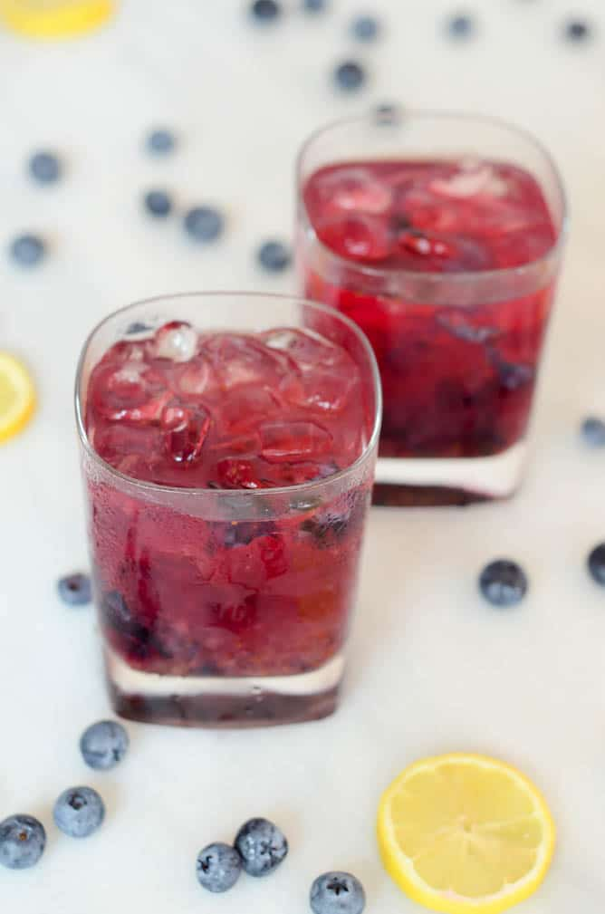 Bourbon, 'Barb and Blue | CaliGirl Cooking