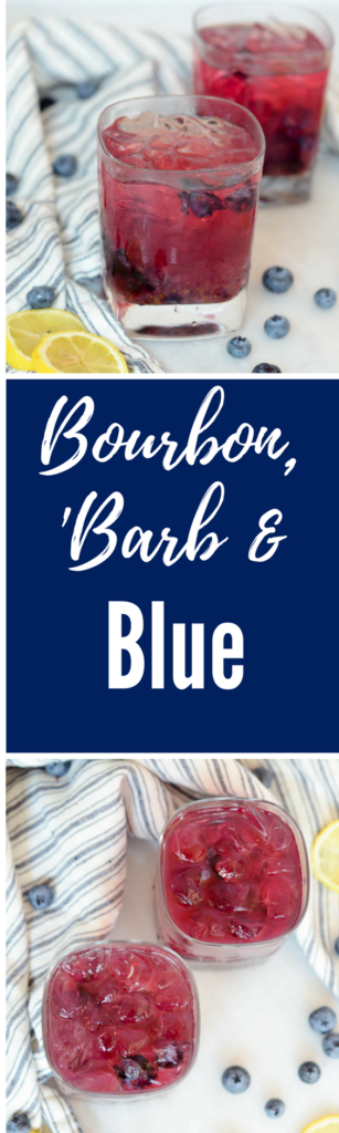 Bourbon, 'Barb and Blue | CaliGirlCooking.com