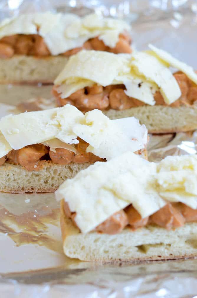 Asiago Chipotle Shrimp Toasts   CaliGirl Cooking