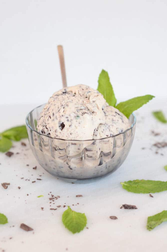 how to make mint ice cream with fresh mint