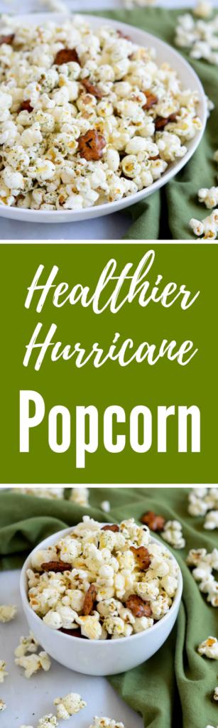 Healthier Hurricane Popcorn | CaliGirlCooking.com