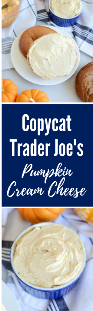 Copycat Trader Joe's Pumpkin Cream Cheese | CaliGirlCooking.com