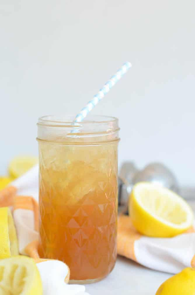 Spiked Maple Rosemary Lemonade | CaliGirlCooking.com