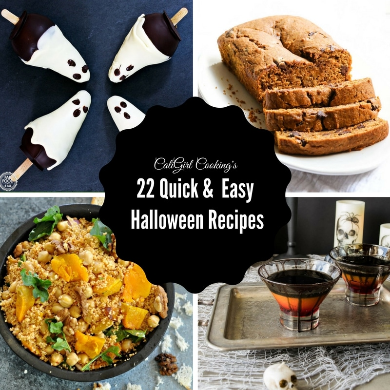 22 Quick & Healthy Halloween Recipes | CaliGirlCooking.com