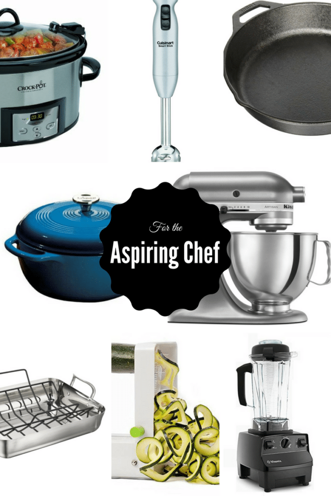 For the Aspiring Chef | 2016 Holiday Gift Guide on CaliGirlCooking.com