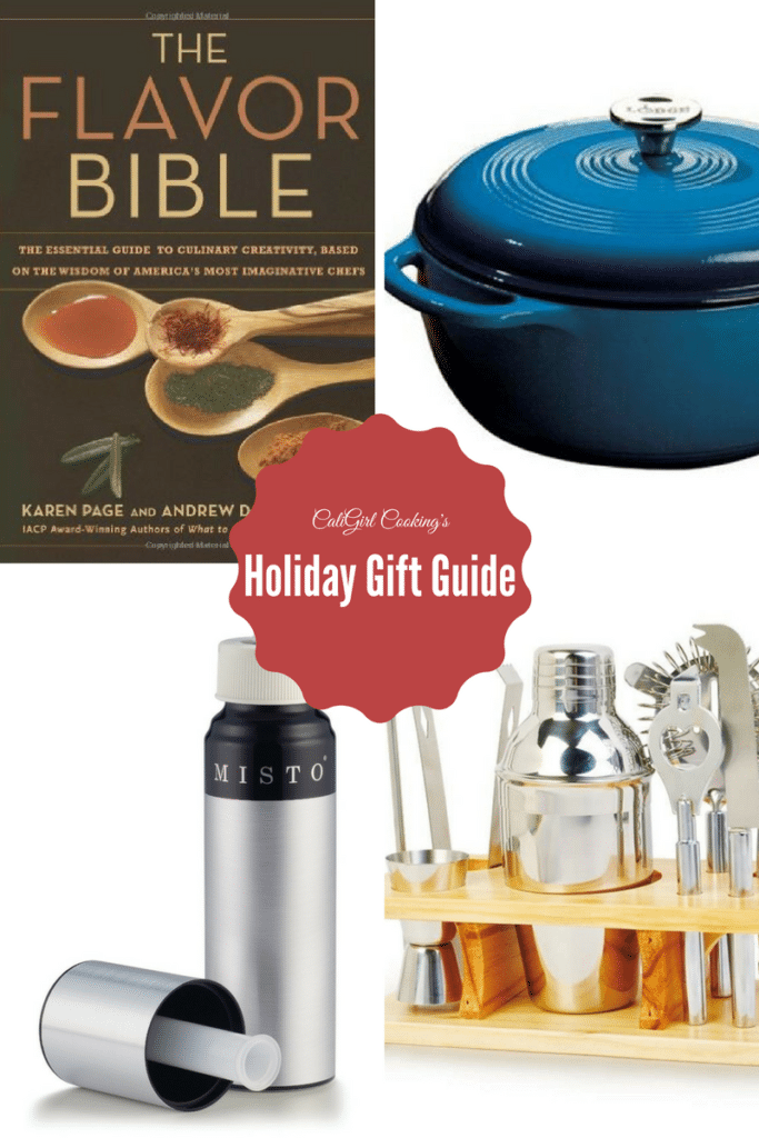 2016 Holiday Gift Guide on CaliGirlCooking.com