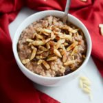 Slow Cooker Cherry Pie Oatmeal | CaliGirlCooking.com