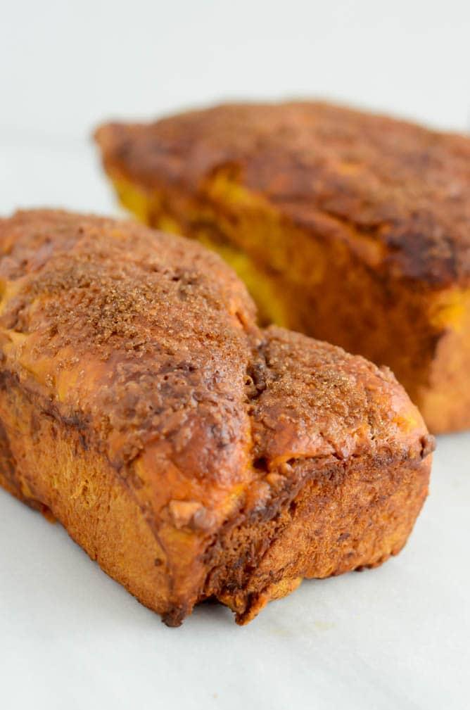 Sweet Potato Casserole Babka   CaliGirlCooking.com