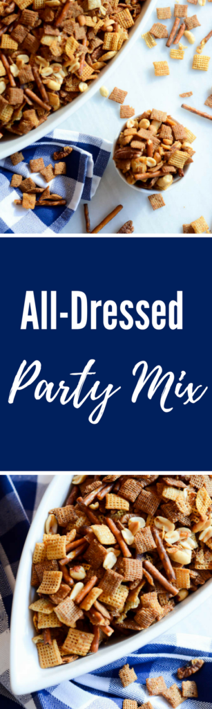 All-Dressed Party Mix | CaliGirlCooking.com