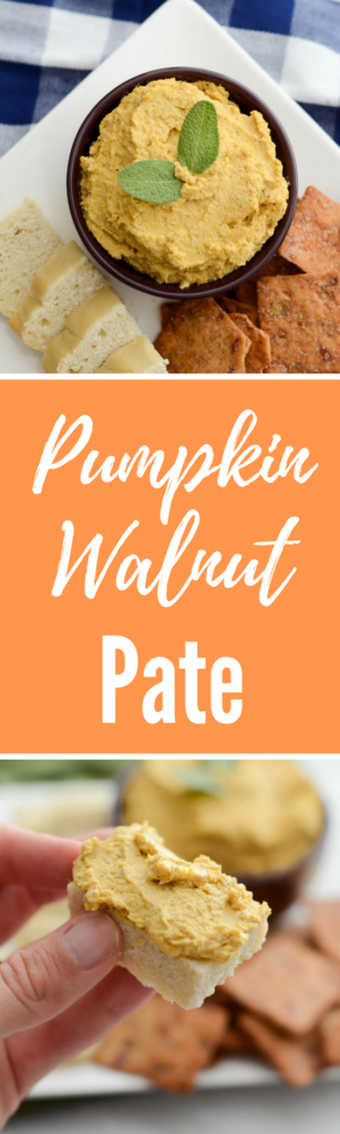 Pumpkin Walnut Pate | CaliGirlCooking.com