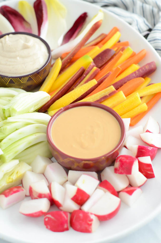 Best EVER Winter Vegetable Platter | CaliGirlCooking.com