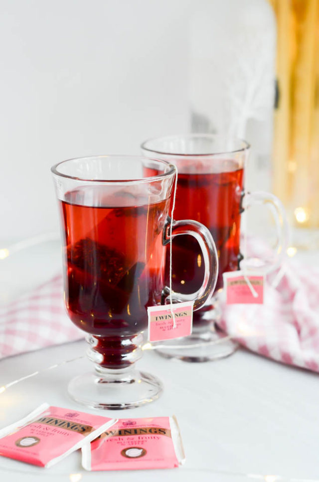 Elder-Berry Tea Cocktail | CaliGirlCooking.com