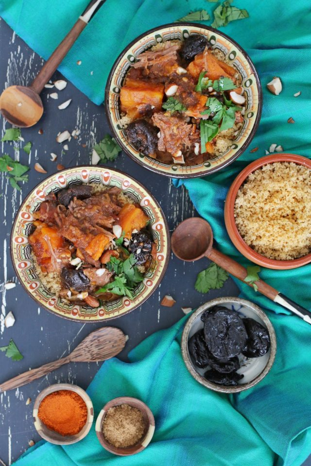 Slow Cooker Moroccan Lamb | 22 Recipes to Get Hygge With on CaliGirlCooking.com