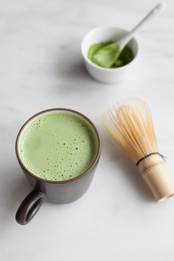 Vanilla Coconut Matcha Latte | 21 Recipes to Get Hygge With on CaliGirlCooking.com