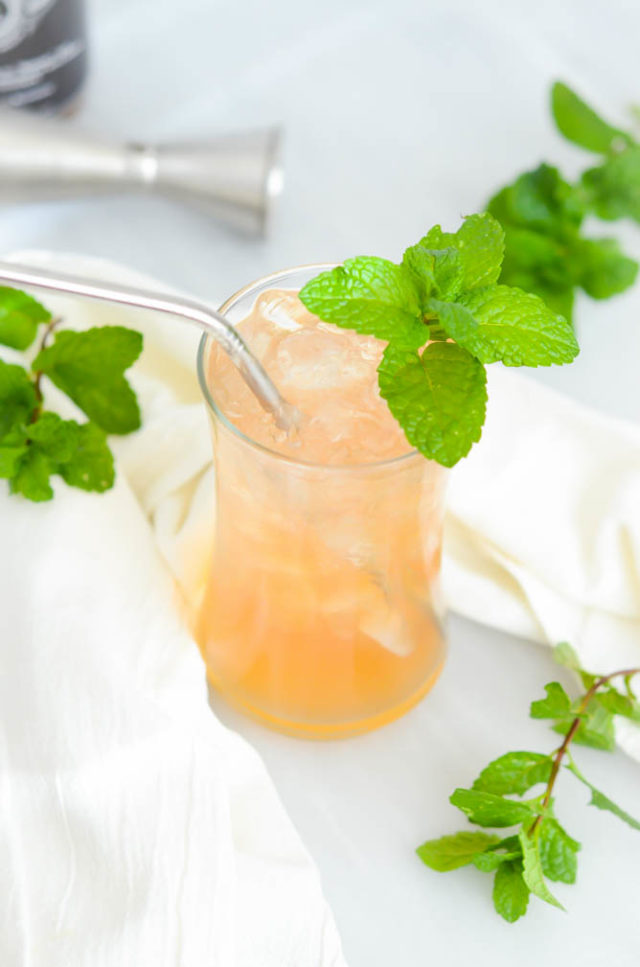 Pineapple, Fennel and Lychee Shrub | CaliGirlCooking.com
