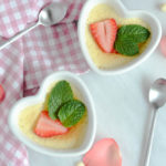 White Chocolate Rosewater Mousse | CaliGirlCooking.com