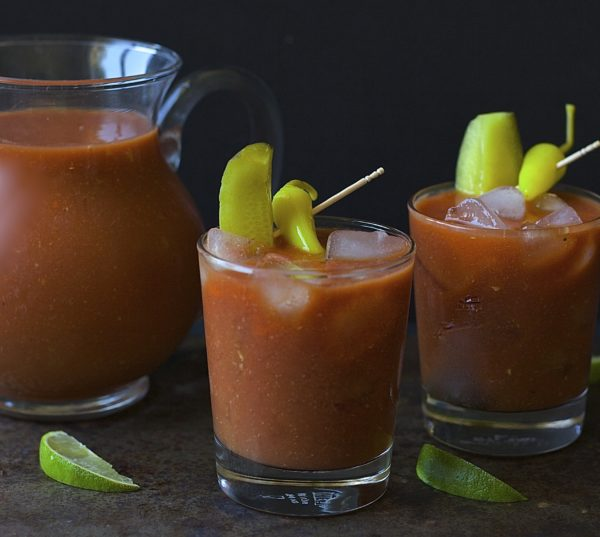 The Best Bloody Mary | 21 Valentine's Day Cocktails and Mocktails on CaliGirlCooking.com