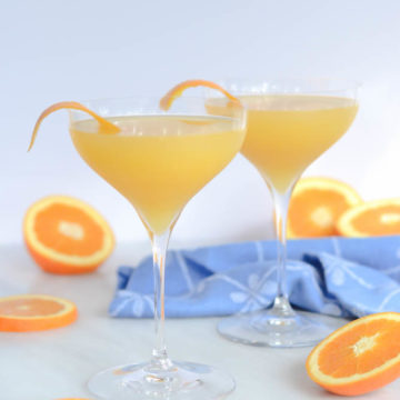 Harvey Wallbanger Mimosa | CaliGirlCooking.com