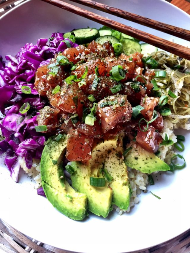 Spicy Poke Bowls | CaliGirlCooking.com