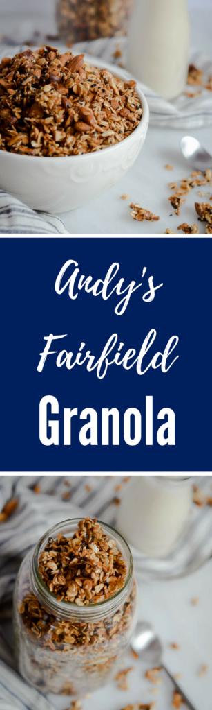 Andy's Fairfield Granola | CaliGirlCooking.com