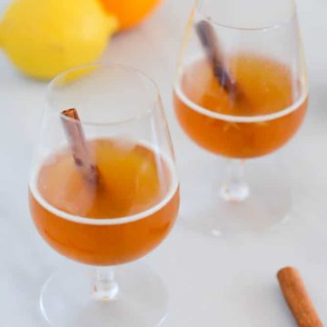 Boilo (A Twist on the Hot Toddy) | 22 Totally Achievable Thanksgiving Recipes on CaliGirlCooking.com