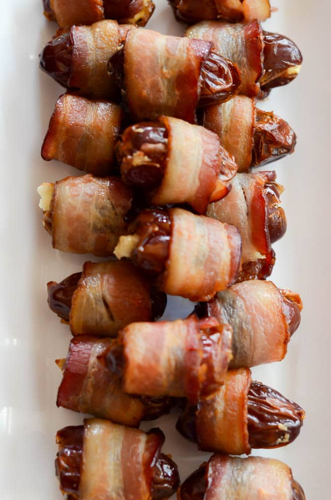 Bacon Wrapped Dates | CaliGirlCooking.com