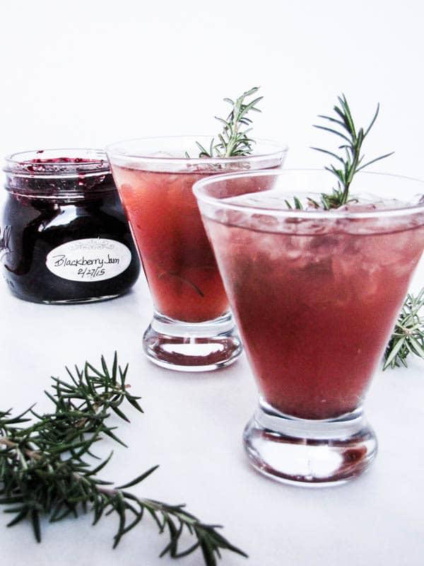 Blackberry Bourbon Jammer | CaliGirl Cooking