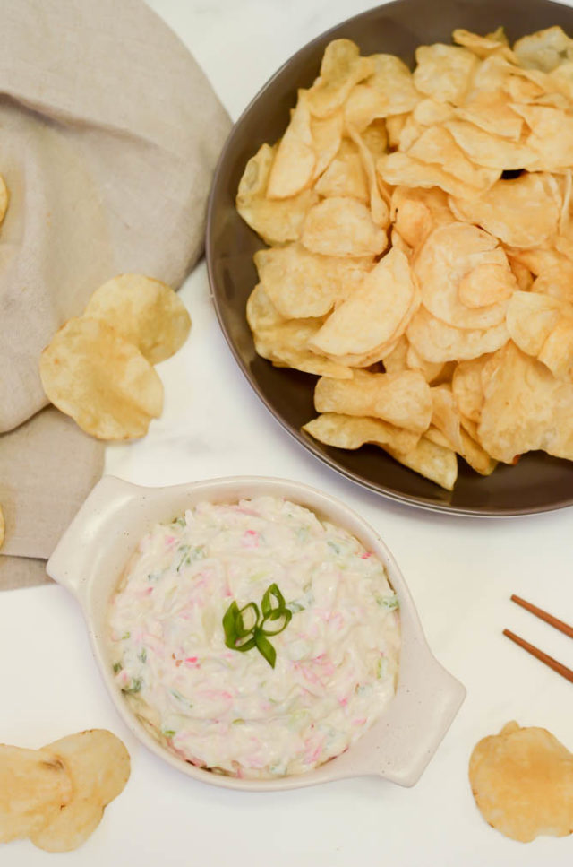 A classic Hawaiian party dip, serve it as an appetizer or side dish at your next luau or tropical get-together!