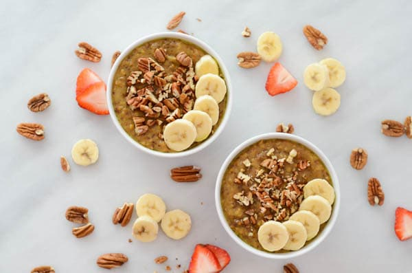 Slow Cooker Superfood Oatmeal | CaliGirl Cooking