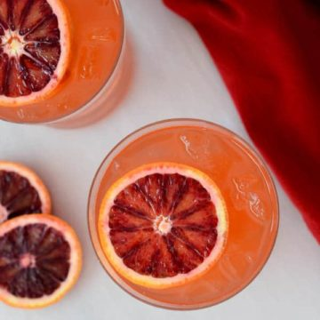 Twisted Whiskey Kind of Afternoon - A Take on the Old-Fashioned | CaliGirl Cooking