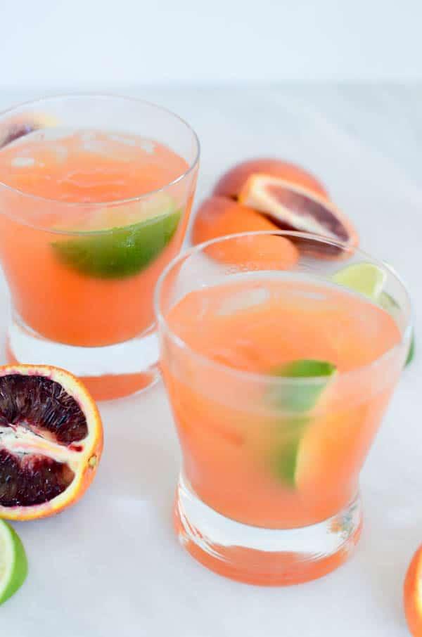 Blood Orange Margarita | CaliGirl Cooking