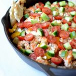 Greek Skillet | CaliGirl Cooking