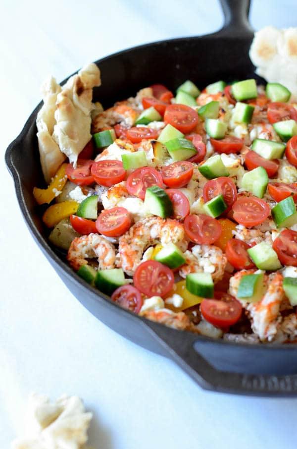 Greek Skillet | CaliGirl Cooking
