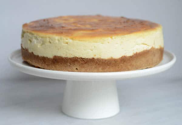 Classic New York-Style Cheesecake | CaliGirl Cooking