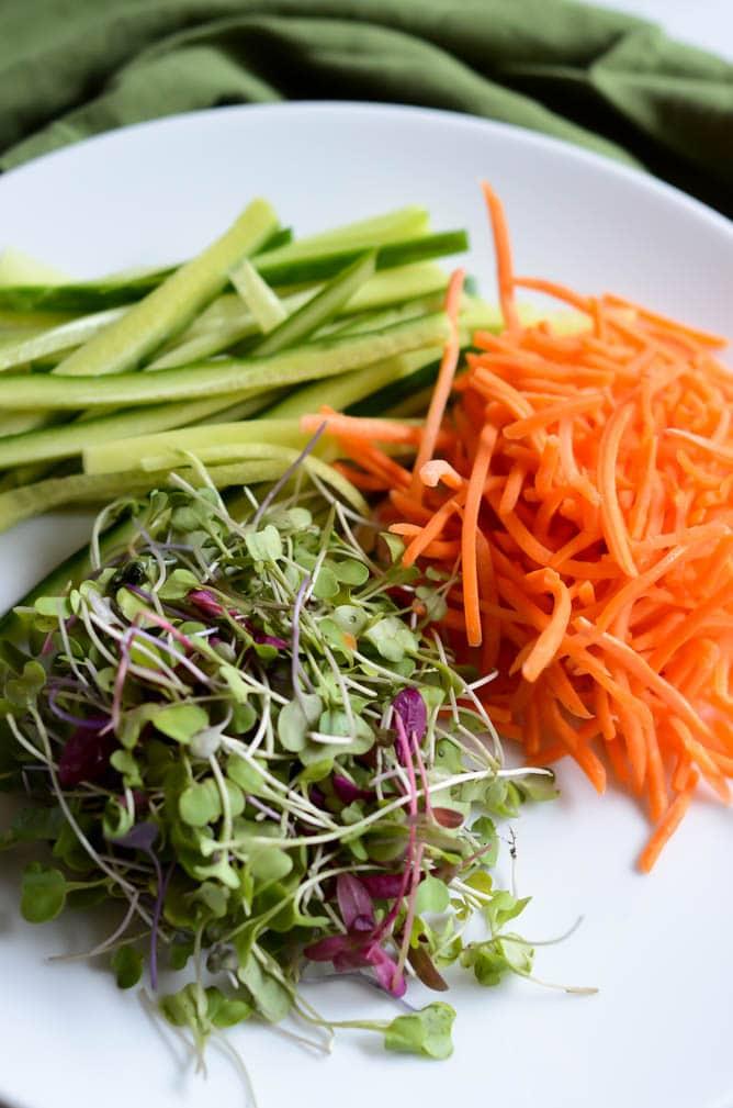 Ahi and Smoked Salmon Sushi-Ritos | CaliGirl Cooking