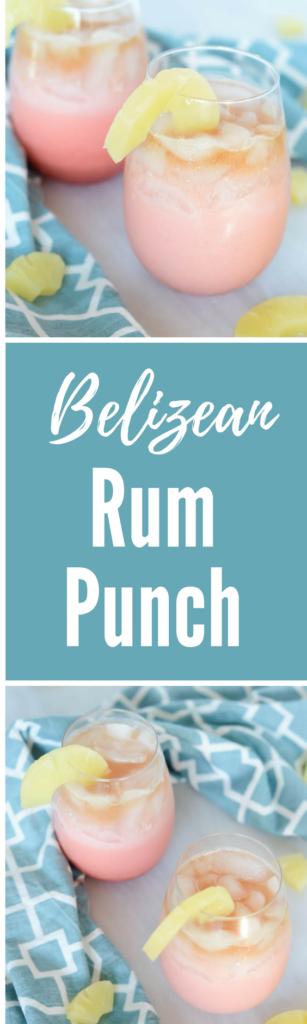 Belizean Rum Punch | CaliGirlCooking.com