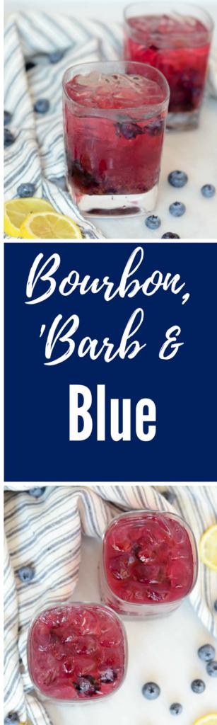 Bourbon, 'Barb and Blue | CaliGirlCooking.com