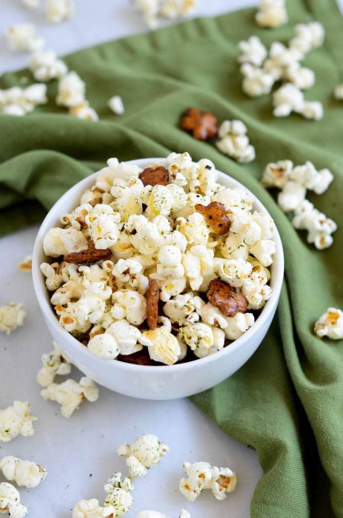 Healthier Hurricane Popcorn | CaliGirl Cooking