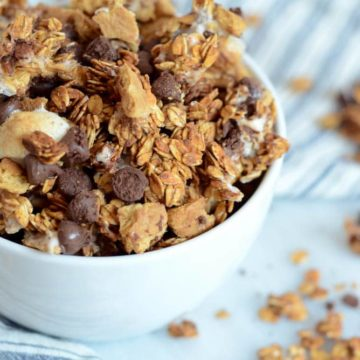S'mores Granola Clusters | CaliGirl Cooking
