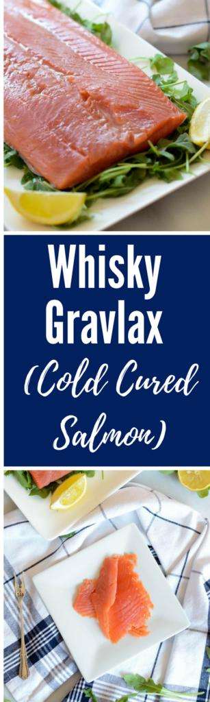 Whisky Gravlax (Cold Cured Salmon)   CaliGirlCooking.com
