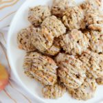 Butterscotch Apple Oatmeal Cookies with Bourbon Glaze | 22 Totally Achievable Thanksgiving Recipes on CaliGirlCooking.com